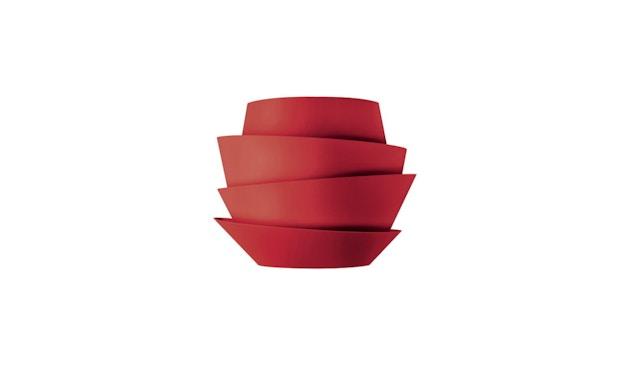 Foscarini - Le Soleil wandlamp - niet dimbaar - rood - 1