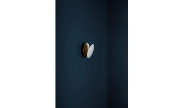 Catellani & Smith - Lederam W Wandlamp - D1 zwart/koper D2 koper/zwart - Ø 17 - 3