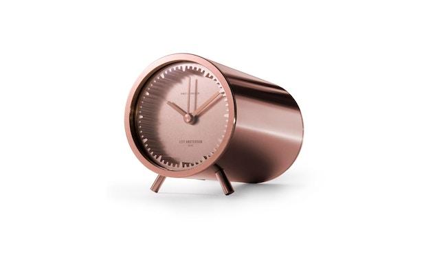 LEFF amsterdam - Tube Clock Tischuhr - Kupfer - 3
