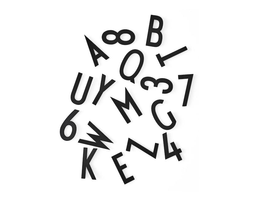 DESIGN LETTERS - Buchstaben-Set - L - Schwarz - 1