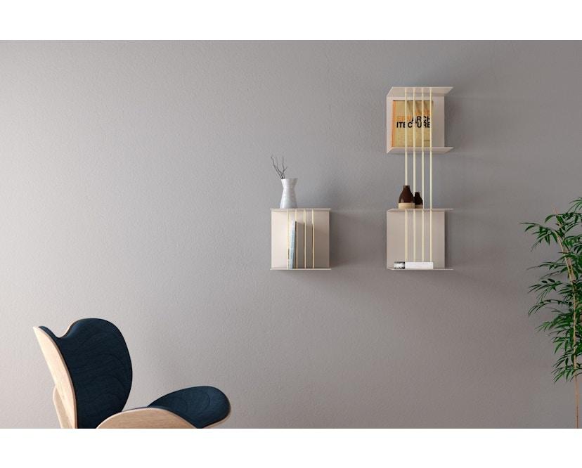 UMAGE - A Conversation Piece fauteuil - petrolblauw - Eik - 8