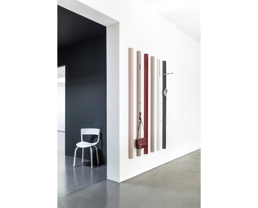 Schönbuch - Line Wandgarderobe - Lack schwarz - mit ausklappbarer Stange - 2