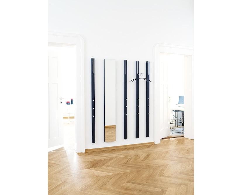 Schönbuch - Line Wandgarderobe - Lack schwarz - mit ausklappbarer Stange - 6