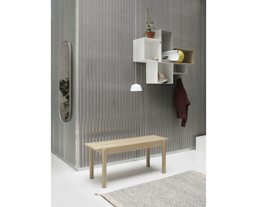 Muuto - Linear Wood Series Bank - eiken - 110 cm - 3