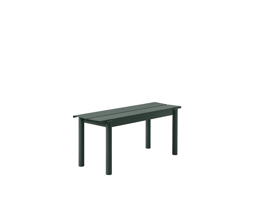 Muuto - Linear Steel Bank - S - donkergroen - 1