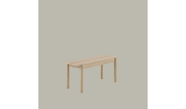 Muuto - Linear Wood Series Bank - eiken - 110 cm - 4