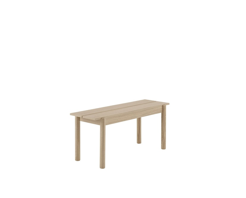 Muuto - Linear Wood Series Bank - eiken - 110 cm - 1