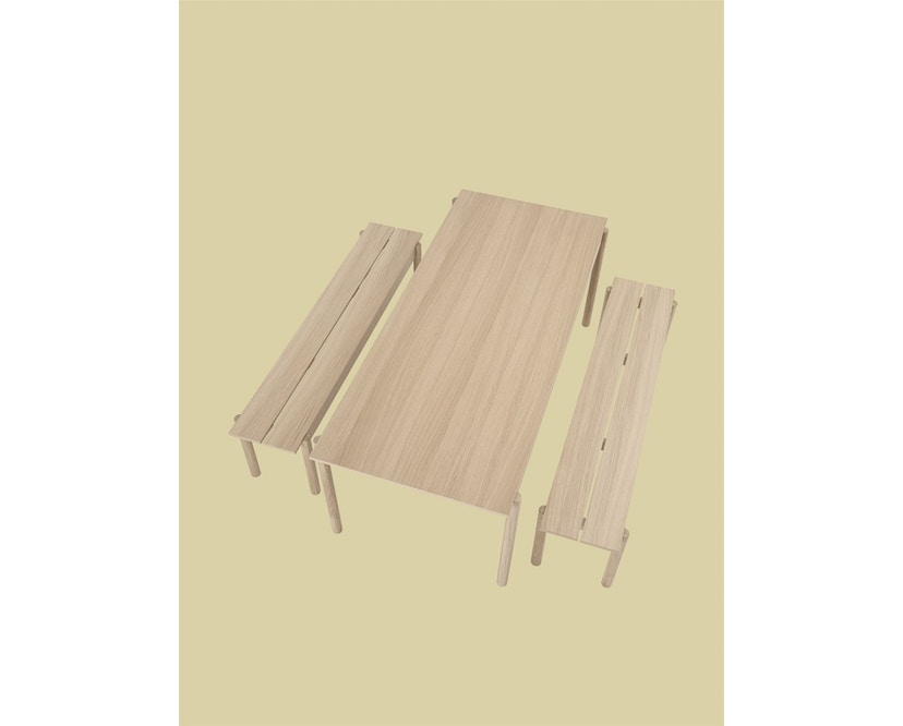 Muuto - Linear Wood Series Bank - eiken - 110 cm - 5