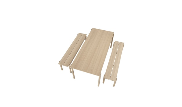 Muuto - Linear Wood Series Tisch - 2