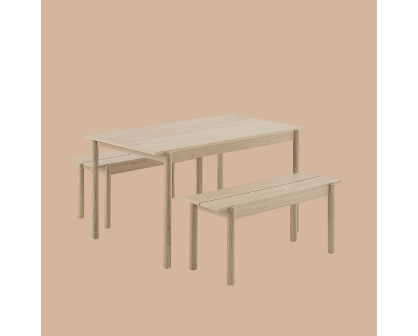 Muuto - Linear Wood Series Tafel - S - 3