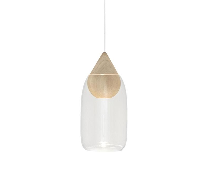 Mater - Liuku Drop Hängeleuchte - Glas transparent - 2