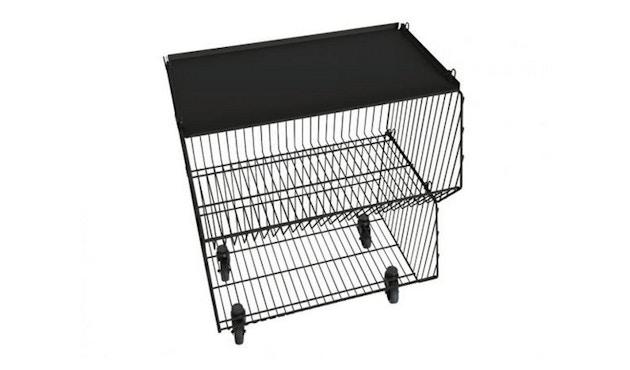 Pension für Produkte - Living Basket Wohnkorb - 2er - signalschwarz - 4