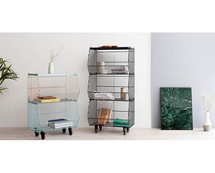 Pension für Produkte - Living Basket Wohnkorb - 3er - signalschwarz - 15