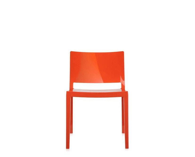 Kartell - Lizz Stuhl - hochglanz lackiert - orange - 5