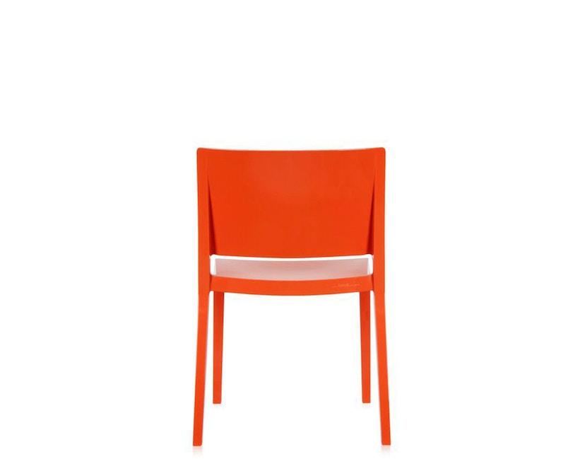 Kartell - Lizz Stuhl - hochglanz lackiert - orange - 6