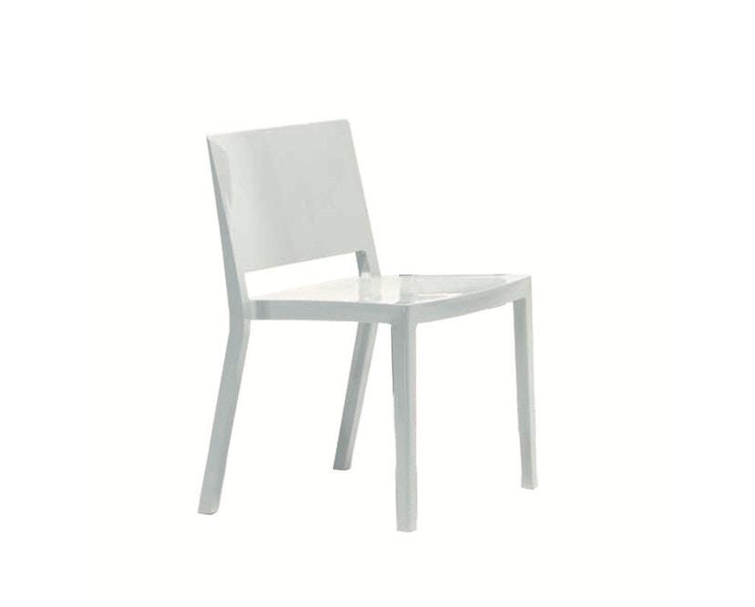 Kartell - Lizz Stuhl - hochglanz lackiert - weiß - 3