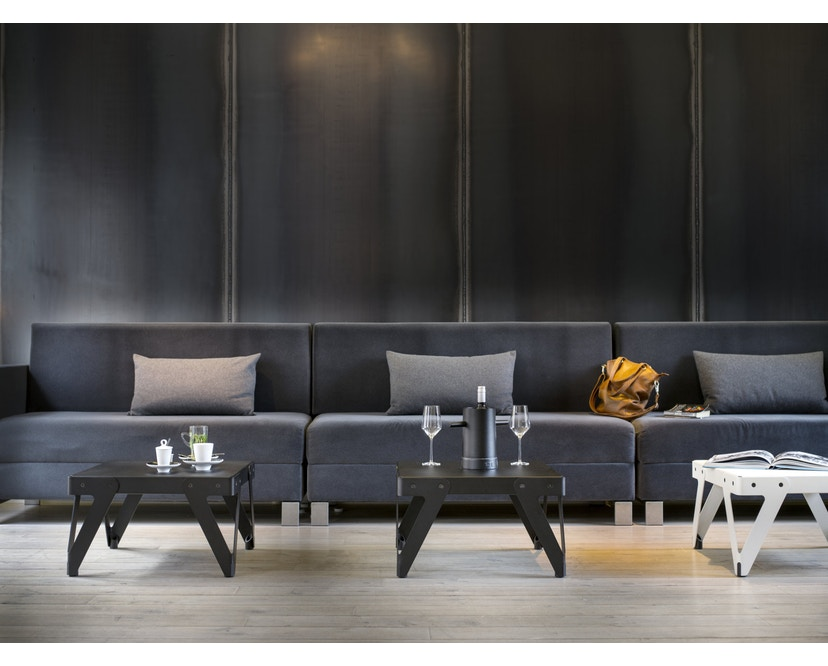 Functionals - Lloyd Beistelltisch 60 x 60 x 36 cm - schwarz - 4