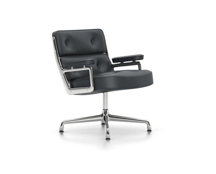 Vitra - Lobby Chair ES 105 - Leer - asfalt - 1