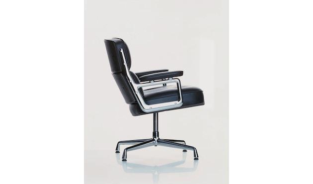 Vitra - Lobby Chair ES 105 - Leder nero - 4
