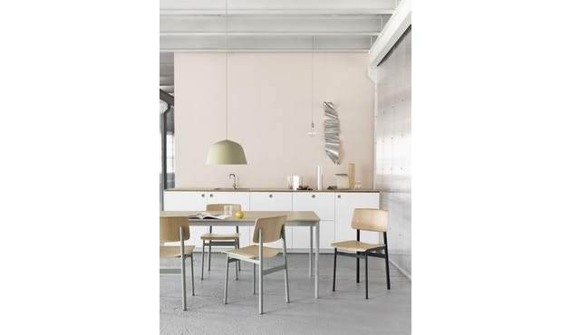 Muuto - Suspension E 27 LED - brun argile - 17