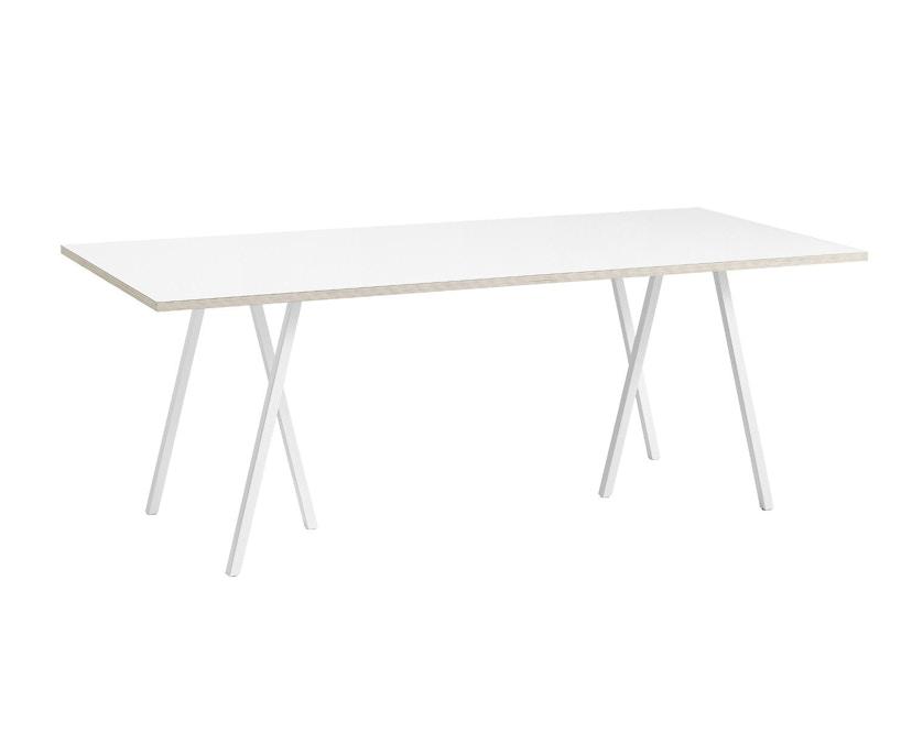 HAY - Loop Stand Table M - weiß - 1