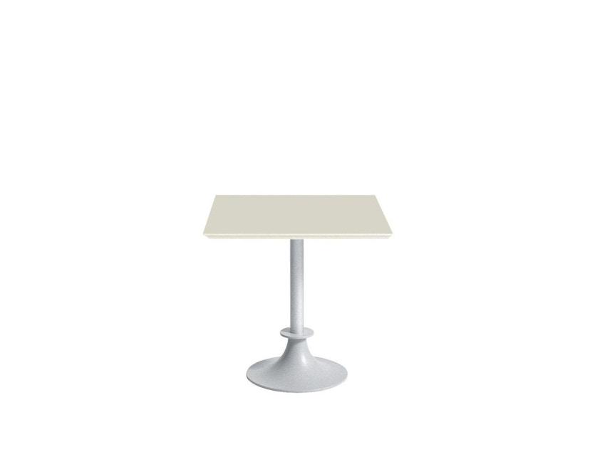 Driade - Lord Yi Outdoor bistrotafel vierkant - ivoor - 1