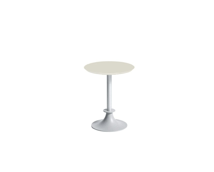 Driade - Lord Yi Outdoor bistrotafel rond - ivoor - 2