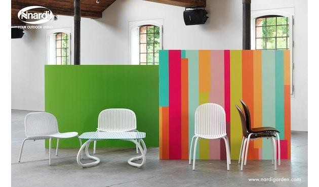 Nardi - Loto Relax 95 Tafel - wit - wit - Breite/Tiefe 95 x 95 cm - 5