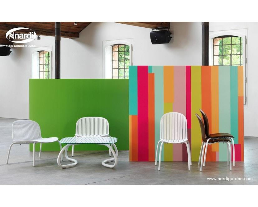 Nardi - Ninfea Relax Lounge Stuhl - weiß - 3