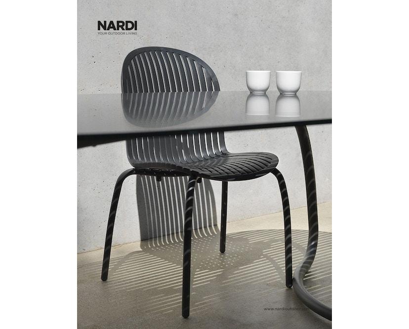 Nardi - Loto Dinner 190 Tisch - anthrazit - 7