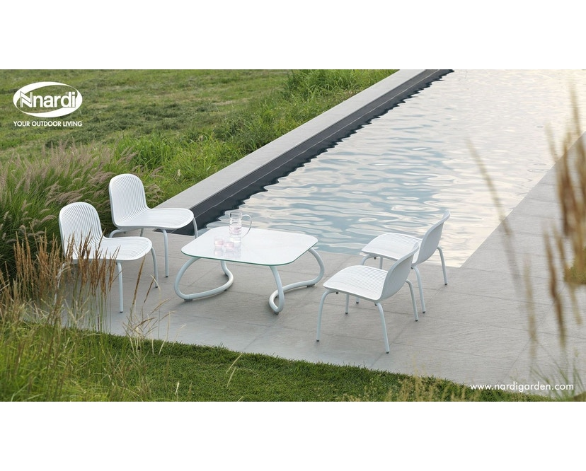 Nardi - Loto Relax 95 Tafel - wit - wit - Breite/Tiefe 95 x 95 cm - 4