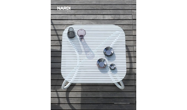 Nardi - Loto Relax 95 Tisch - weiß - 7