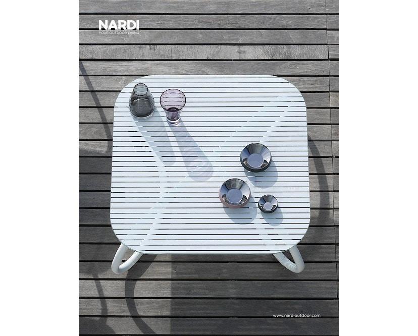 Nardi - Loto Relax 95 Tafel - wit - wit - Breite/Tiefe 95 x 95 cm - 7