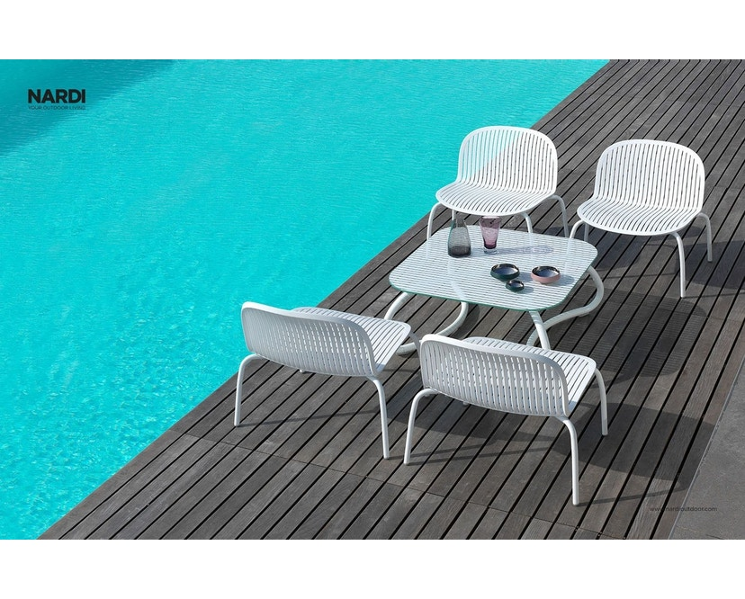 Nardi - Ninfea Relax Lounge Stuhl - weiß - 4