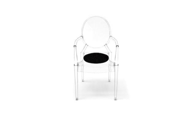 Hey-Sign - Sitzauflage Louis Ghost - 02 schwarz mit Antirutsch - 13