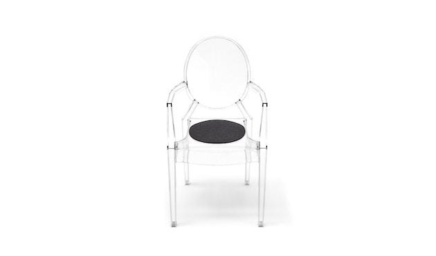 Hey-Sign - Sitzauflage Louis Ghost - 08 graphit mit Antirutsch - 13