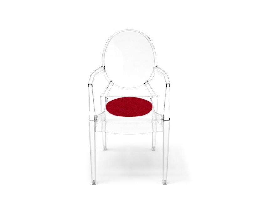 Hey-Sign - Sitzauflage Louis Ghost - 11 rot mit Antirutsch - 13
