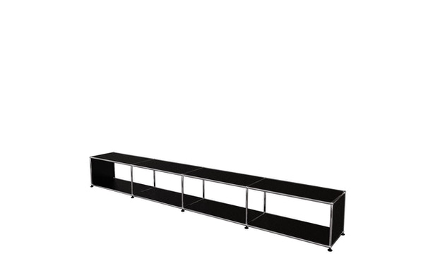 USM Haller - Lowboard XL - schwarz - 2