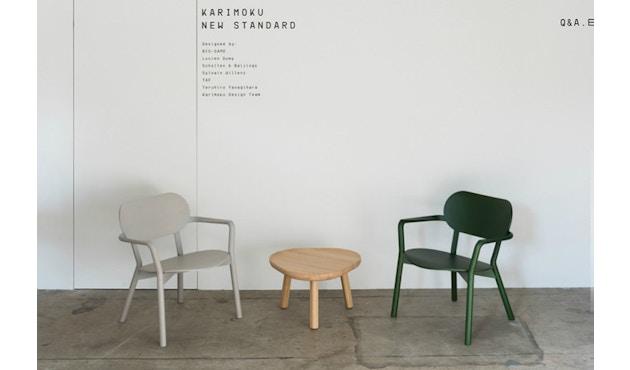 Karimoku New Standard - Castor Low Stuhl - Eiche schwarz - 7
