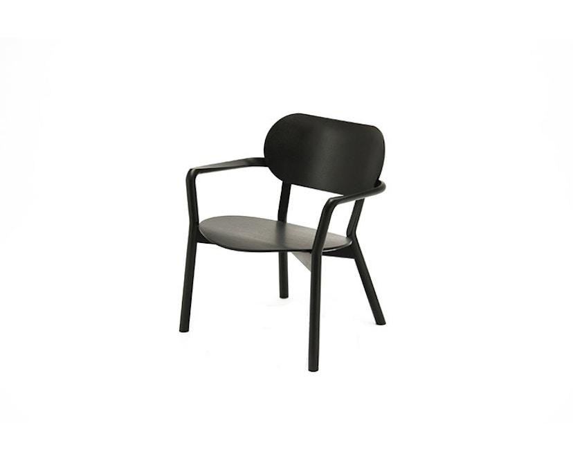 Karimoku New Standard - Castor Low Stuhl - Eiche schwarz - 1