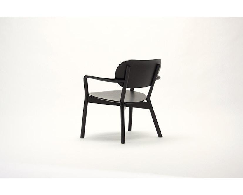 Karimoku New Standard - Castor Low Stuhl - Eiche schwarz - 9