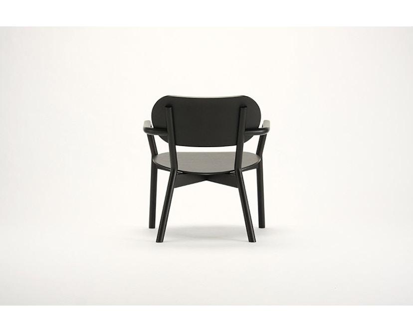 Karimoku New Standard - Castor Low Stuhl - Eiche schwarz - 10