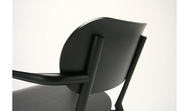 Karimoku New Standard - Castor Low Stuhl - Eiche schwarz - 12