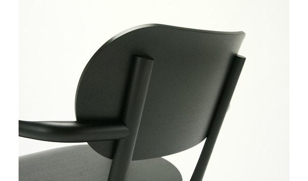 Karimoku New Standard - Castor Low Stuhl - Eiche schwarz - 13