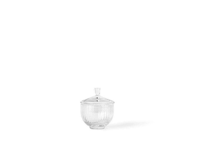 Lyngby Porcelæn - Lyngby Glas-Bonbonniere Ø 10 cm - klar - 1