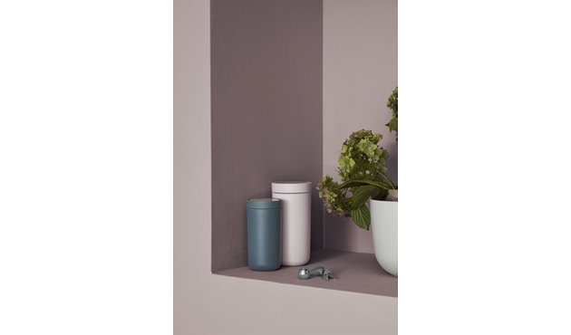 Stelton - To Go Click Thermosbeker - zwart metallic - 0,2l - 5