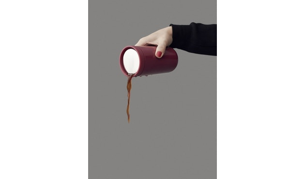 Stelton - To Go Click Thermosbeker - zwart metallic - 0,2l - 2