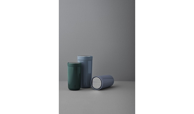 Stelton - To Go Click Thermosbeker - zwart metallic - 0,2l - 3