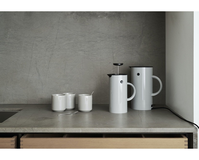 Stelton - EM77  Wasserkocher 1,5 l - light grey - 5