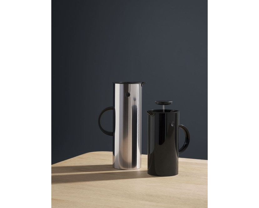 Stelton - EM Pressfilterkanne 1 l - light grey - 3